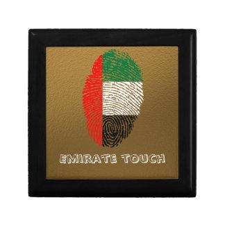 Emirate touch fingerprint flag gift box