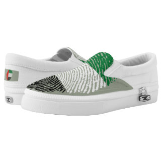 Emirate touch fingerprint flag Slip-On shoes