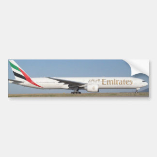 Emirates Aircraft - Bumper Sticker Car Bumper Sticker
