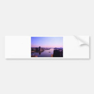 Emirates Cable Car Skyline Bumper Sticker