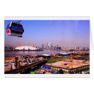 Emirates Cable Car Skyline Card