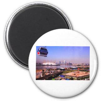Emirates Cable Car Skyline Fridge Magnet