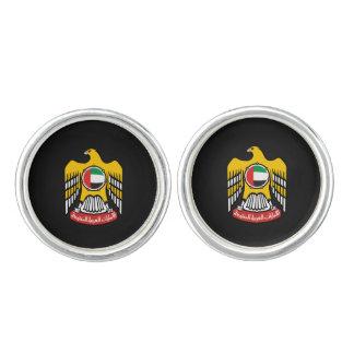 Emirati coat of arms cufflinks