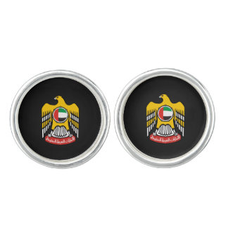 Emirati coat of arms cufflinks