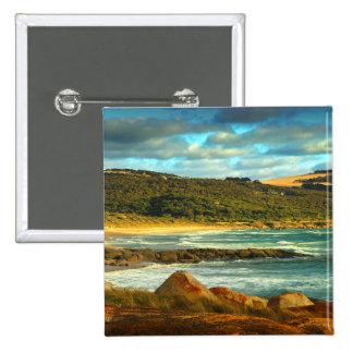 Emita Beach | Flinders Island, Tasmania 15 Cm Square Badge