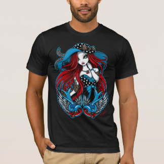 Emma 50's Rockabilly Swallow Tattoo Angel TShirt
