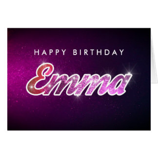Emma Birthday Card