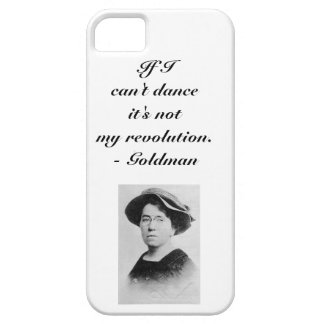 Emma Goldman Anarchist Quote Smartphone Cover iPhone 5 Case