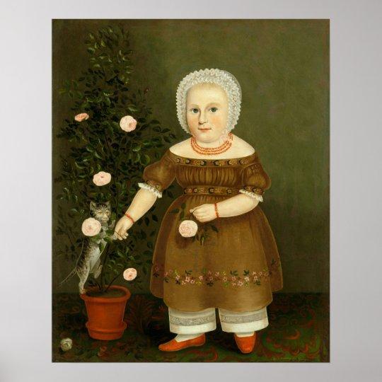 Emma Homan by John Bradley ~ c.1844 Poster