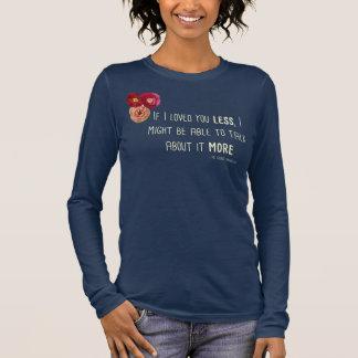 """Emma """"Loved"""" Ladies'Floral Tee LS"""