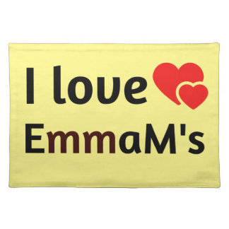 Emma Name Placemat