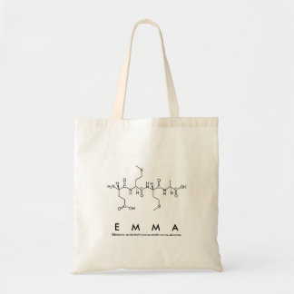 Emma peptide name bag