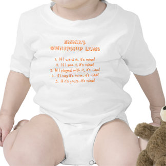 Emma s Ownership Laws Baby Bodysuit