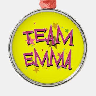 EMMA Team Emma Silver-Colored Round Decoration