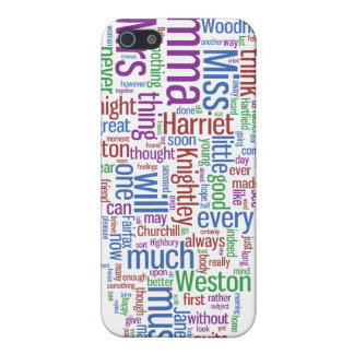 Emma Word Cloud iPhone 5/5S Case