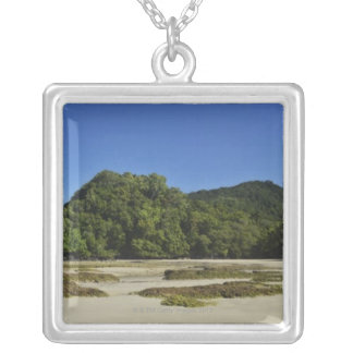 Emmagen Beach, Daintree National Park (UNESCO 2 Silver Plated Necklace