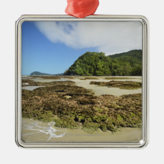 Emmagen Beach, Daintree National Park (UNESCO 3 Christmas Ornament