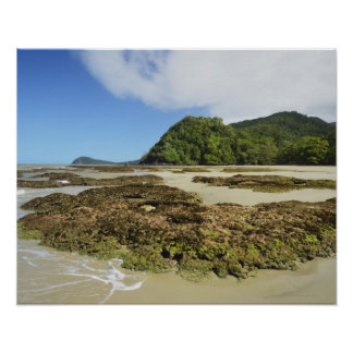 Emmagen Beach, Daintree National Park (UNESCO 3 Poster