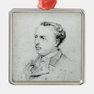 Emmanuel Chabrier aged 20, 1861 Christmas Ornament