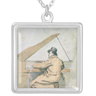 Emmanuel Chabrier Silver Plated Necklace