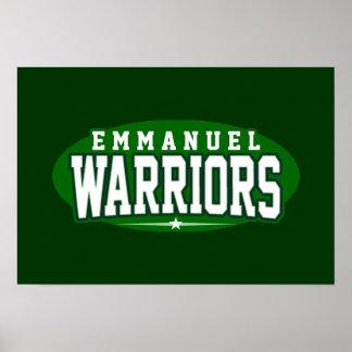 Emmanuel Christian High School; Warriors Print