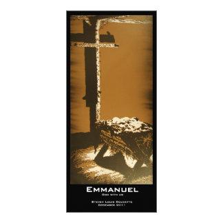 """""""Emmanuel"""" Value Bookmarks Rack Card"""