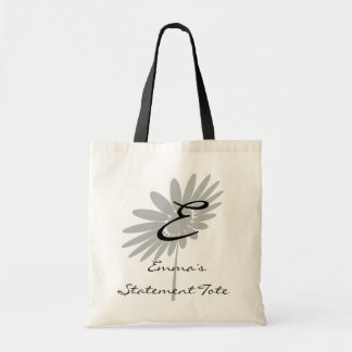 Emma's Cute Chic Type Flower Floral Statement Tote