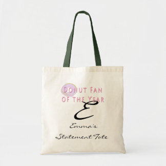 Emma's Funny Donut  Statement Tote