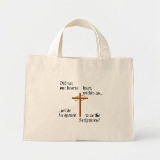 Emmaus Mini Tote Bag