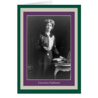 Emmeline Pankhurst Greeting Card