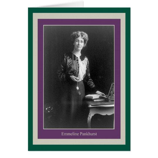 Emmeline Pankhurst Card
