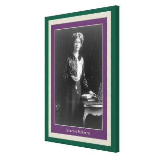 Emmeline Pankhurst Gallery Wrapped Canvas