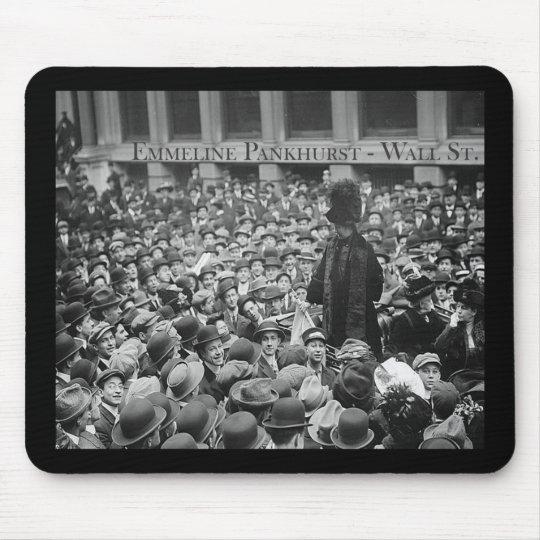 Emmeline Pankhurst - Wall St. Mouse Mat
