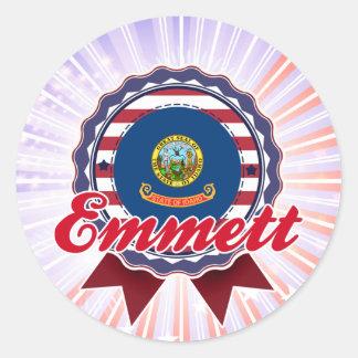 Emmett, ID Round Sticker