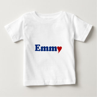 Emmy with Heart Baby T-Shirt