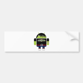 Emo Andy the Android Bumper Sticker