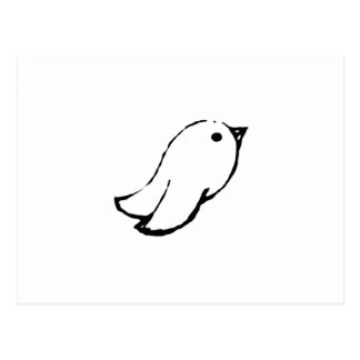 Emo Bird Postcard