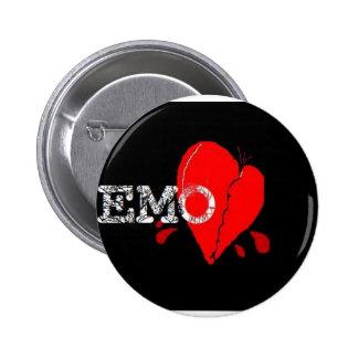 EMO BOTTON 6 CM ROUND BADGE