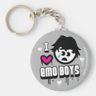 EMO BOYS! KEY RING