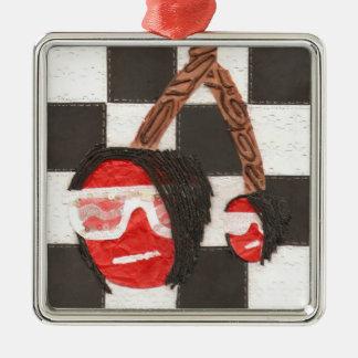 Emo Cherries Premium Ornament