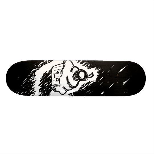 Emo cupcake 21.6 cm old school skateboard deck