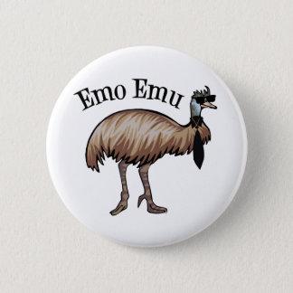 Emo Emu 6 Cm Round Badge