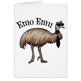 Emo Emu Card