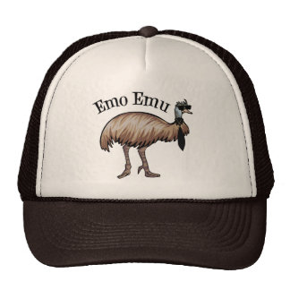 Emo Emu Mesh Hat