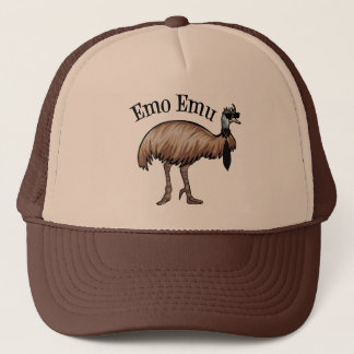Emo Emu Trucker Hat
