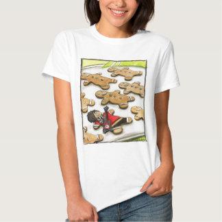Emo Gingerbread Shirts