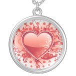 Emo Heart Design Necklace