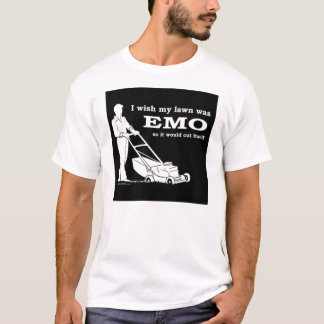 emo-lawn-cutting T-Shirt