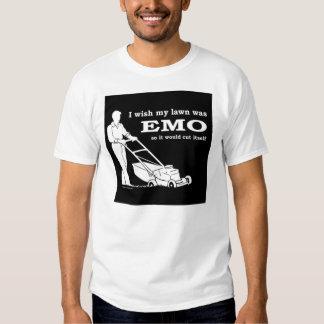 emo-lawn-cutting tee shirt