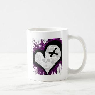 Emo Loveheart Coffee Mug